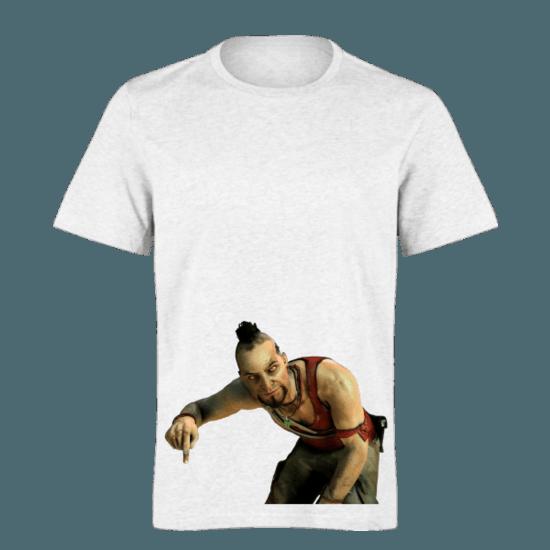 خرید تی شرت سفید طرح ریج 1