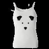 خرید تاپ سفید طرح سگ 1