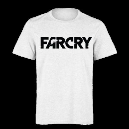 خرید تی شرت سفید طرح فارکرای 1