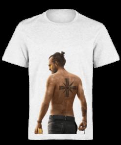 خرید تی شرت سفید طرح فار کرای 2