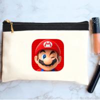 خرید کیف لوازم آرایش طرح ماریو 1