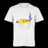 خرید تی شرت سفید طرح ماهی 1