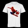 خرید تی شرت سفید طرح مرد عنکبوتی 1