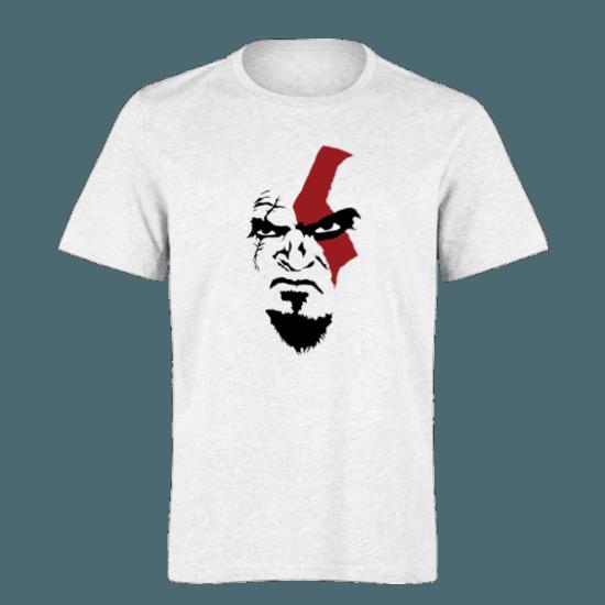 خرید تی شرت سفید طرح کریتوس 1