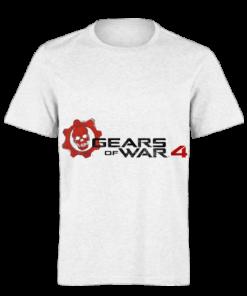 خرید تی شرت سفید طرح گیرز آو وار چهار 1