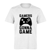 خرید تی شرت سفید طرح گیمرز