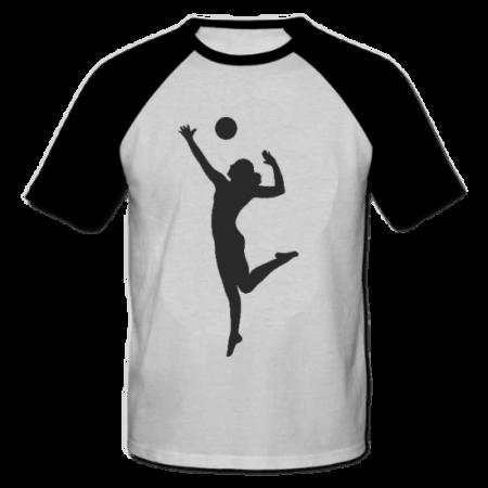 خرید تی شرت یقه و آستین سیاه طرح فانتزی 1