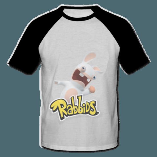 خرید تی شرت یقه و آستین سیاه طرح ربیدز 1