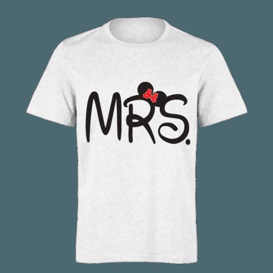 خرید تی شرت سفید طرح مینی موس 1