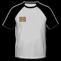 خرید تی شرت یقه و آستین سیاه طرح گوچی 2