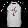 خرید تی شرت یقه و آستین سیاه طرح کراتوس 1