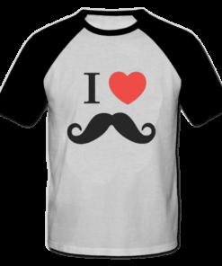 خرید تی شرت یقه و آستین سیاه طرح فانتزی 5