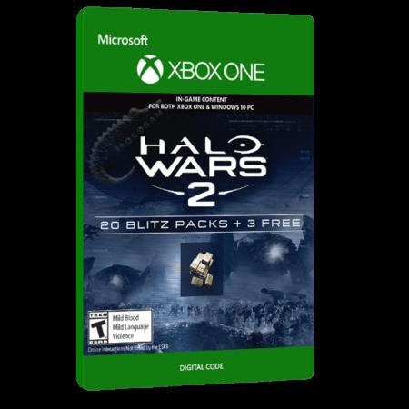 خرید بازی دیجیتال Halo Wars 2 23 Blitz Packs برای Xbox One