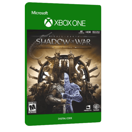 خرید بازی دیجیتال Middle Earth Shadow of War Gold Edition برای Xbox One