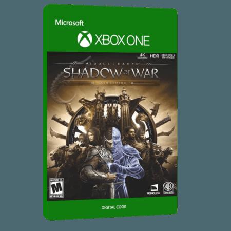 خرید بازی دیجیتال Middle Earth Shadow of War Gold Edition برای Xbox One
