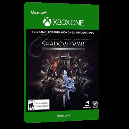 خرید بازی دیجیتال Middle Earth Shadow of War Silver Edition برای Xbox One