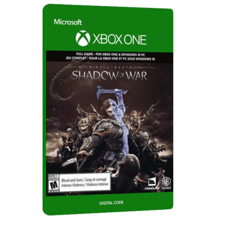 خرید بازی دیجیتال Middle earth Shadow of War برای Xbox One