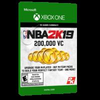 خرید بازی دیجیتال NBA 2K19 200,000 VC برای Xbox One