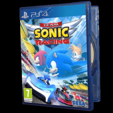 خرید بازی دست دوم و کارکرده Team Sonic Racing برای PS4