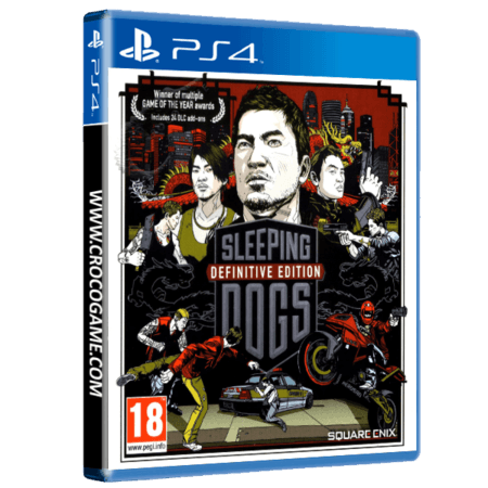 خرید بازی Sleeping Dogs Definitive Edition برای PS4