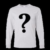 خرید تی شرت آستین بلند خاکستری طرح دلخواه