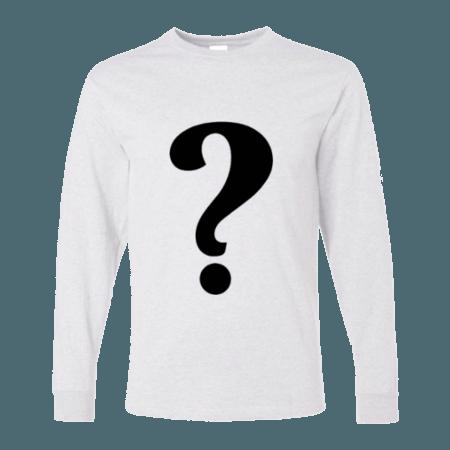 خرید تی شرت آستین بلند سفید طرح دلخواه