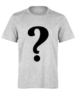 خرید تی شرت خاکستری طرح دلخواه