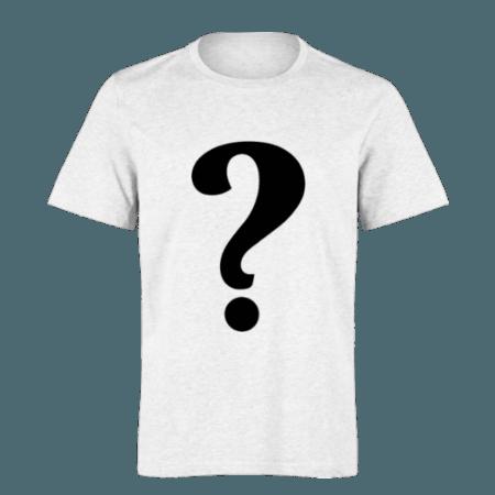 خرید تی شرت سفید طرح دلخواه