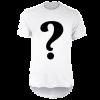 خرید تی شرت لانگ سفید طرح دلخواه