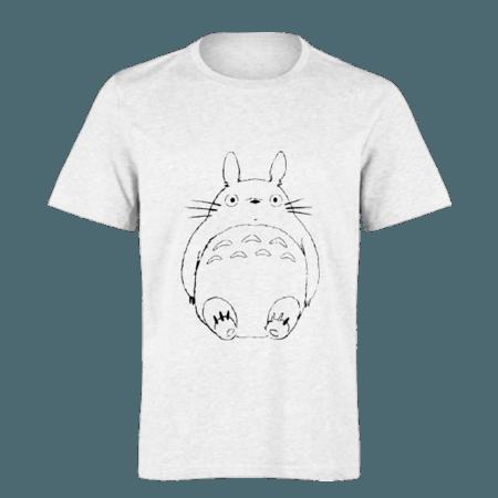 خرید تی شرت سفید طرح توتورو