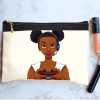 خرید کیف لوازم آرایش طرح دختر گیمر