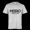 خرید تی شرت خاکستری طرح مترو اگزادوس