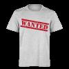 خرید تی شرت خاکستری طرح وانتد