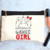خرید کیف لوازم آرایش طرح گیمر گرل 1