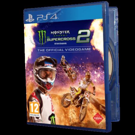 خرید بازی دست دوم و کارکرده Monster Energy Supercross 2 The Official Videogame برای PS4