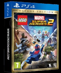 خرید بازی Lego Marvel Super Heroes 2 Deluxe Edition برای PS4