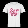 خرید تی شرت سفید طرح از امروز لذت ببر