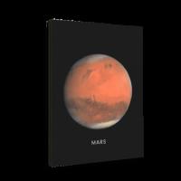 خرید تابلو بوم طرح سیاره مریخ
