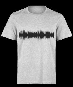 خرید تی شرت خاکستری طرح وُیس