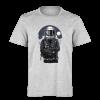 خرید تی شرت خاکستری طرح فضا نورد 2