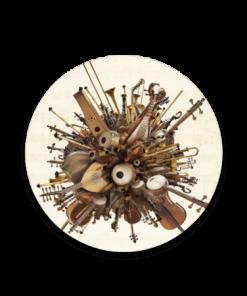 خرید زیر لیوانی طرح آلات موسیقی