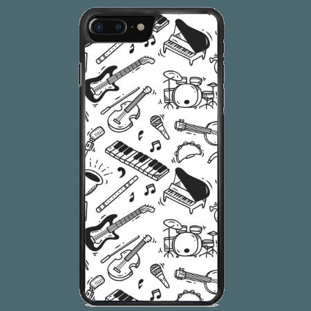 خرید قاب موبایل طرح آلات موسیقی