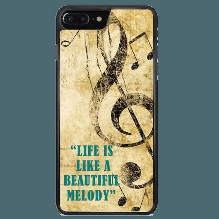خرید قاب موبایل طرح ملودی زیبا