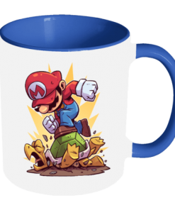 خرید لیوان سرامیکی ماگ طرح ماریو