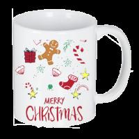خرید لیوان سرامیکی ماگ طرح مری کریسمس