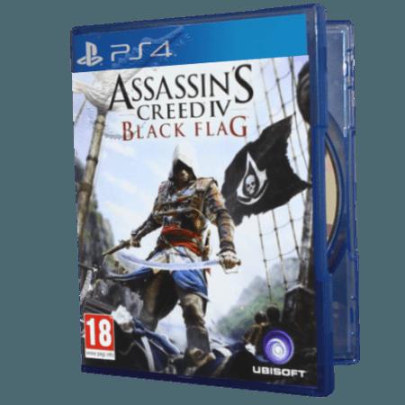 خرید بازی دست دوم و کارکرده Assassins Creed 4 Black Flag برای PS4
