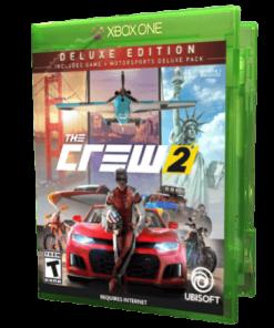 خرید بازی دست دوم و کارکرده The Crew 2 Deluxe Edition برای Xbox One