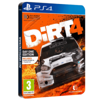 خرید بازی Dirt 4 Day One Edition Steelbook برای PS4