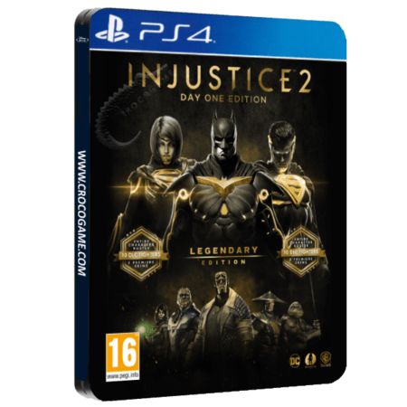 خرید بازی Injustice 2 Legendary Edition Day One Steelbook برای PS4