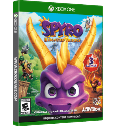 خرید بازی Spyro Reignited Trilogy برای Xbox One
